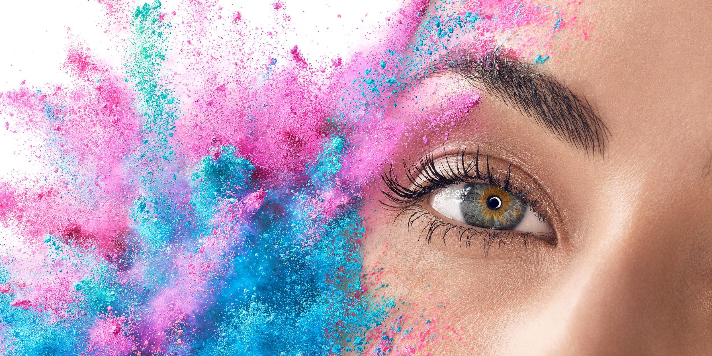 swissQprint | Key Visuals - ….Spannende fotografische Umsetzung mit einer Kombination von Porträts und Farbexplosionen für den Hersteller der besten UV-Inkjet Drucker...Exciting photographic realization with a combination of portraits and color explosions for the manufacturer of the best UV inkjet printers.….