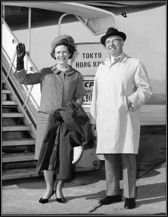 Betty and Allyn Taylor (in the mid-1960s)