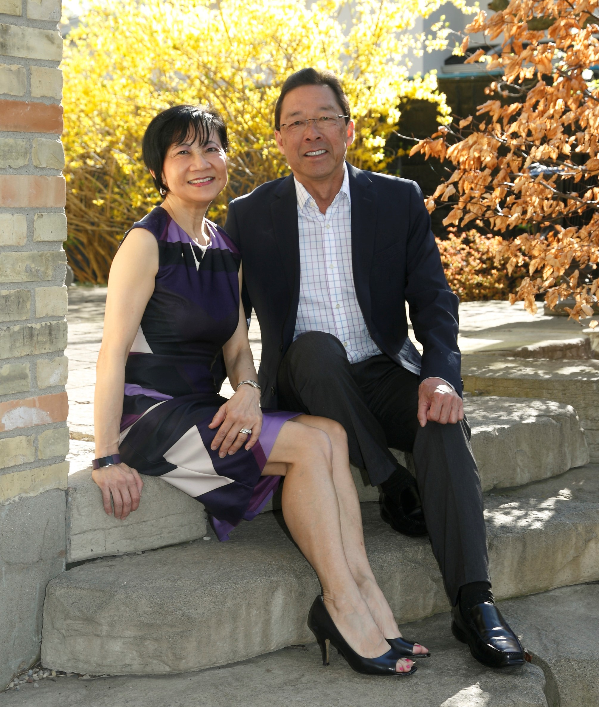 Dr. Eleanor Huang and Dr. Jack Jung