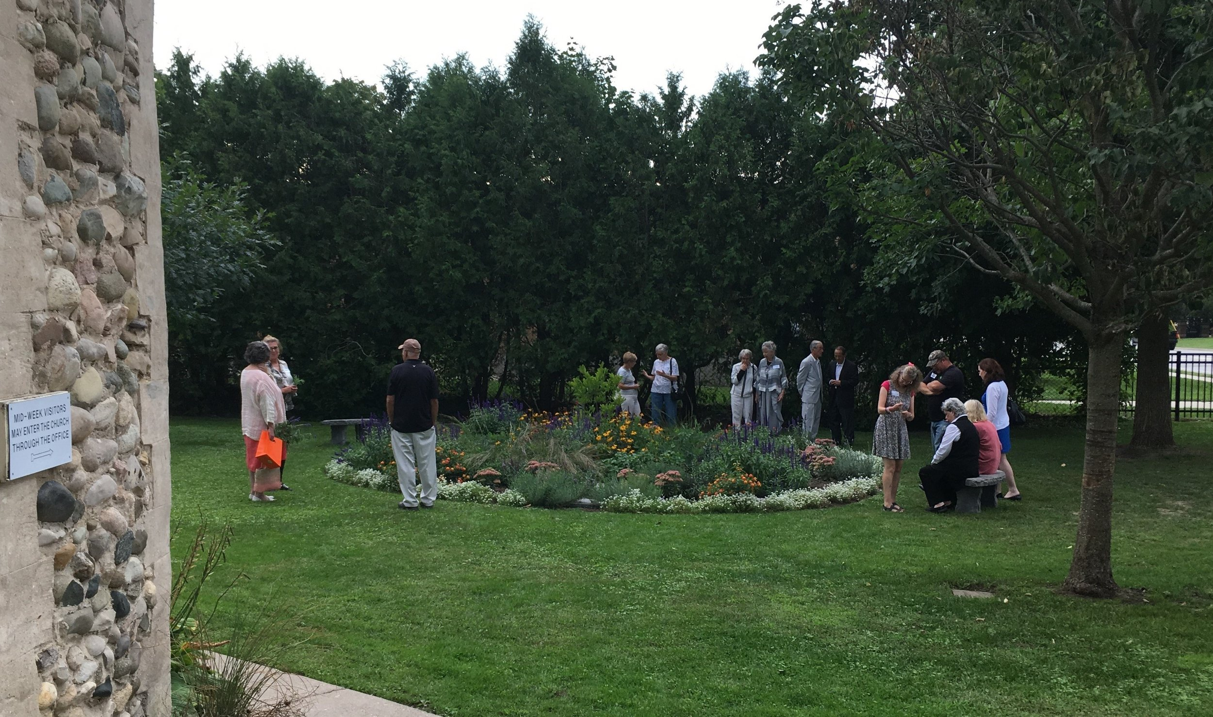 The St. Anne's pollination garden (1344 Commissioners Rd W in Byron)