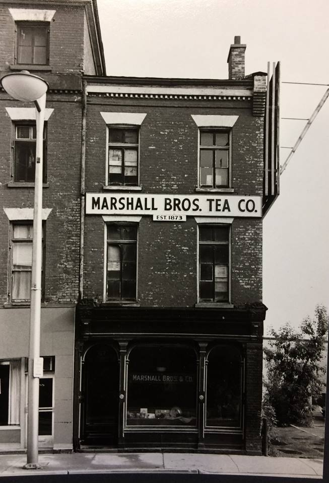 Marshall Bros. Tea Façade