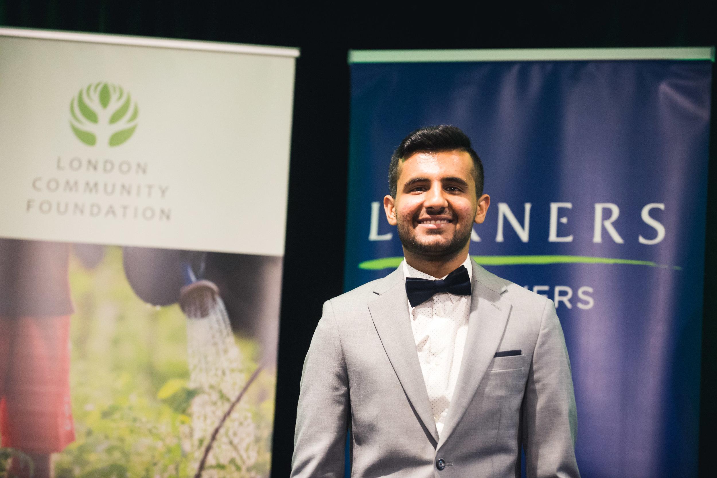 2018 honouree Ahmad Aljassem