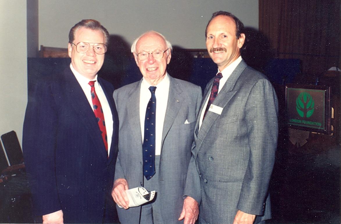 Cal Stiller, J. Allyn Taylor, and Bob Siskind