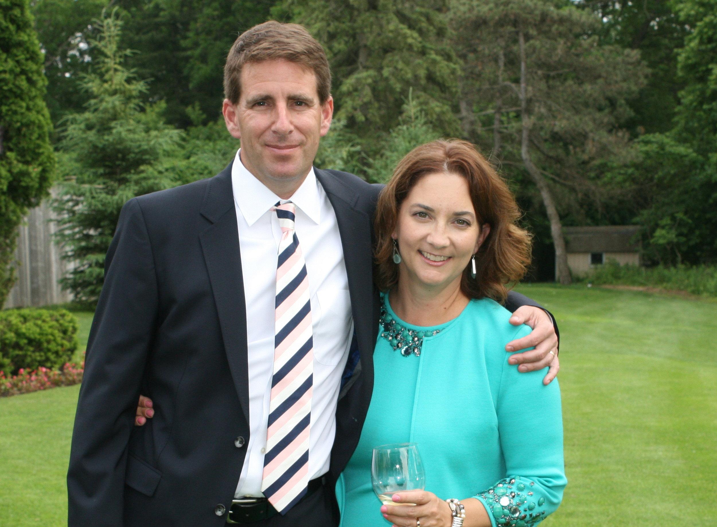 Charles and Jill Wright