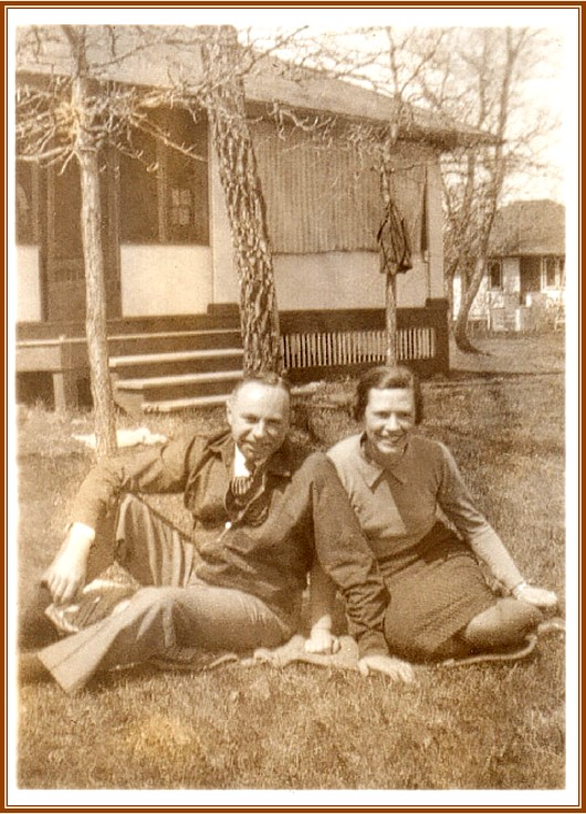 Allyn and Betty Taylor (in the late 1930s)