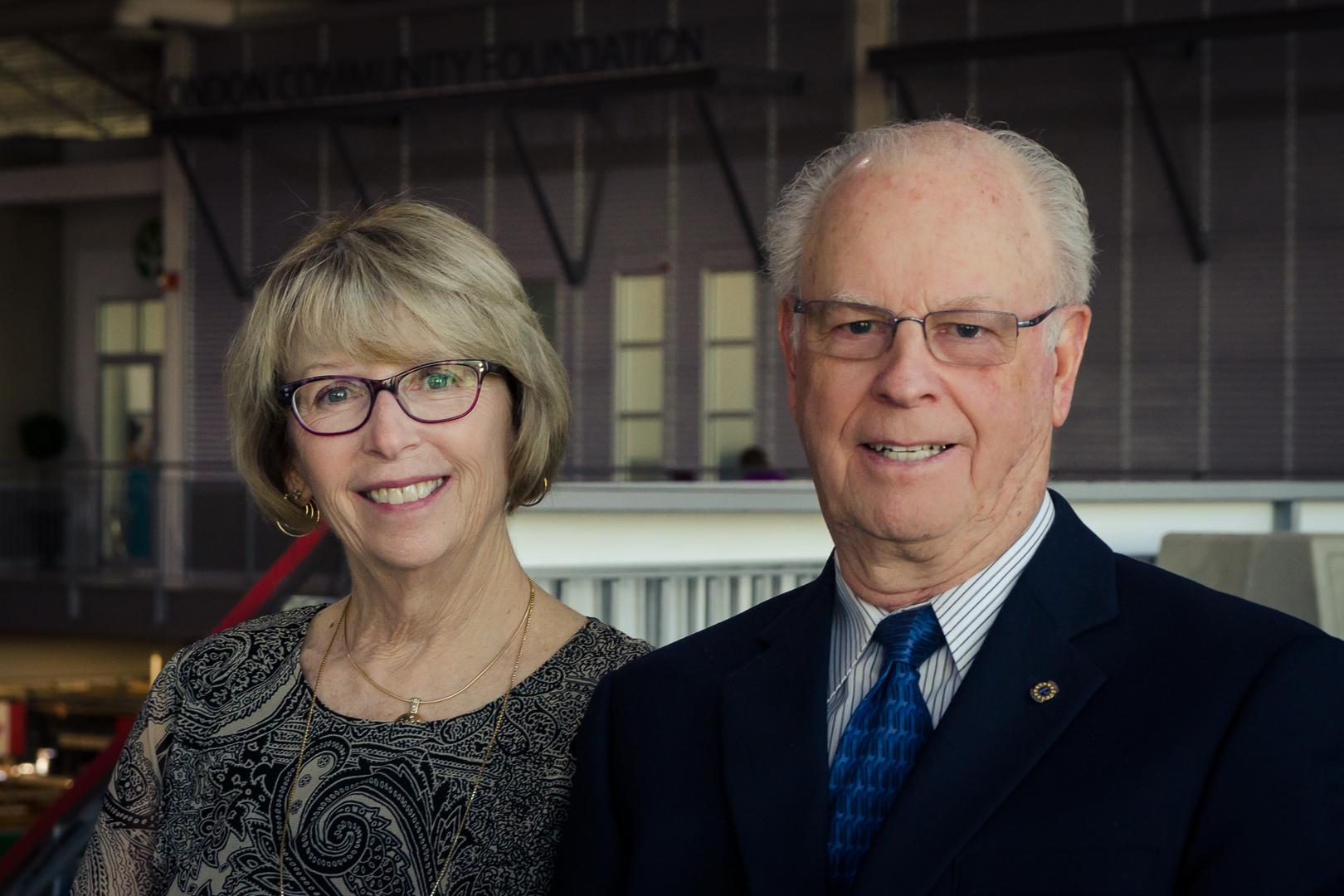 Catherine and Gordon Sellery