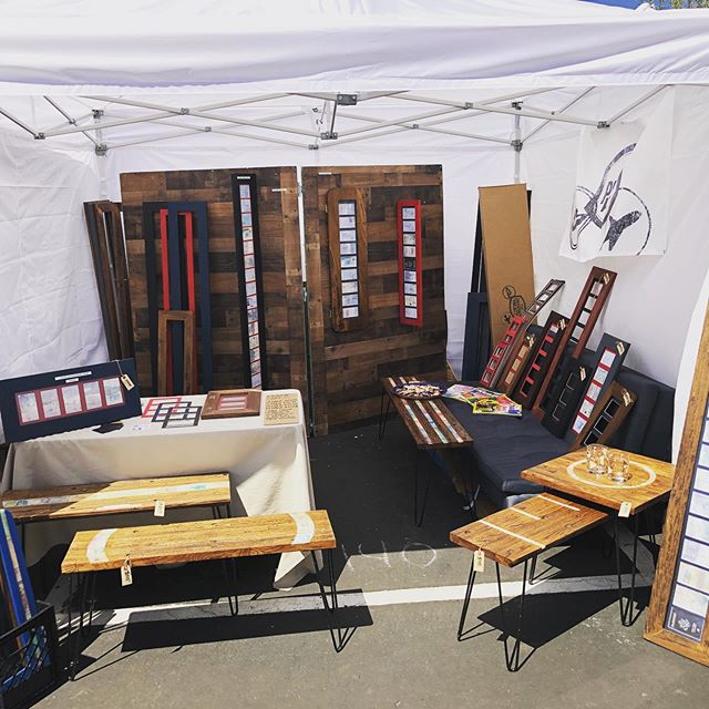 Second day of @horseshoemarket in full swing! Come by and see us!