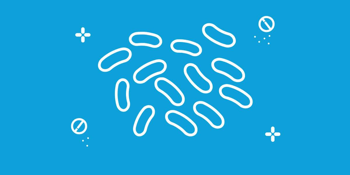 Der findes 5 milliarder mælkesyrebakterier*i Lactocare Kids  *fordelt på 2 Lactobacillus stammer
