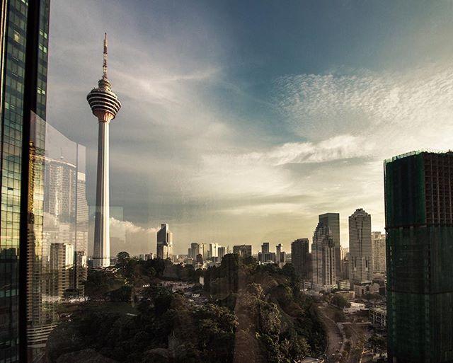 Kuala Lumpur City views from @renaissancekualalumpur