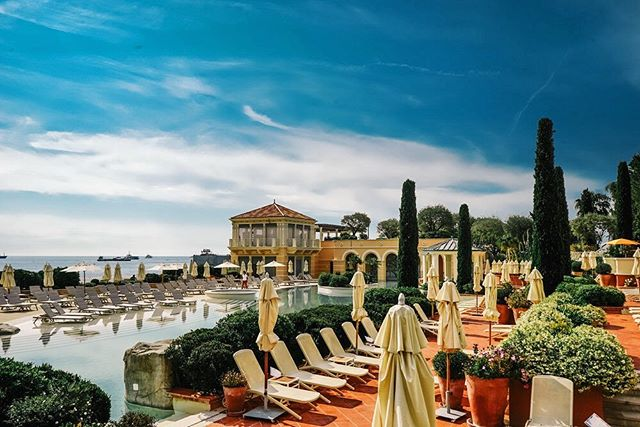 Summer feels in the French Riviera. @montecarlobay