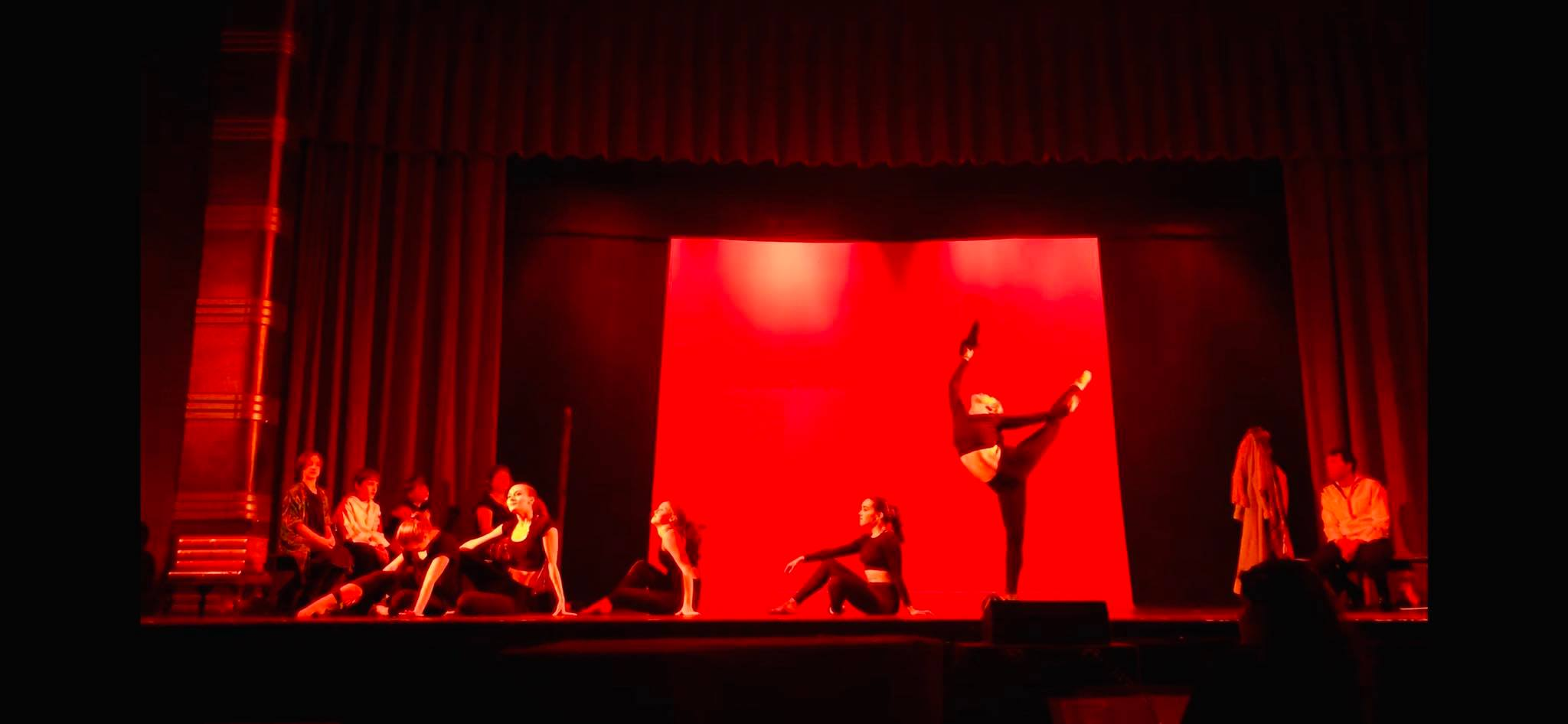 The dancers of Northern Lights Dance Arts join the cast.