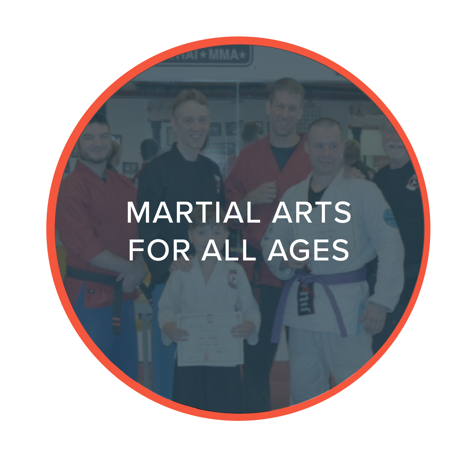 Learn self defense, discipline and sculpt lean muscle in one of our ten unique Martial Arts classes. From introductory Kickboxing to Jiu Jitsu & kung fu, we provide instructional training for all age groups and experience levels.  Develop greater flexibility, discipline and strength in a fun and uplifting atmosphere. Learn more about our individual  Martial Arts programs here!