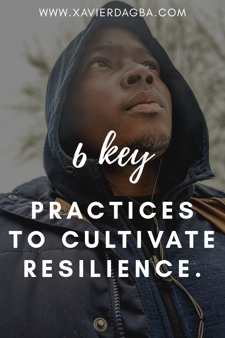 Resilience is a trait of character that you will have to nurture and practice daily to be able to navigate with more ease through the obstacles in your life. Keep reading to find out 6 key elements you will need to cultivate to be more resilient…