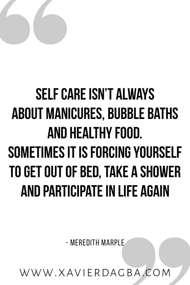Self  care quote, motivation, inspiration