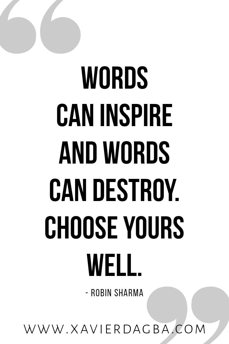 Robin Sharma quote, inspiration, motivation