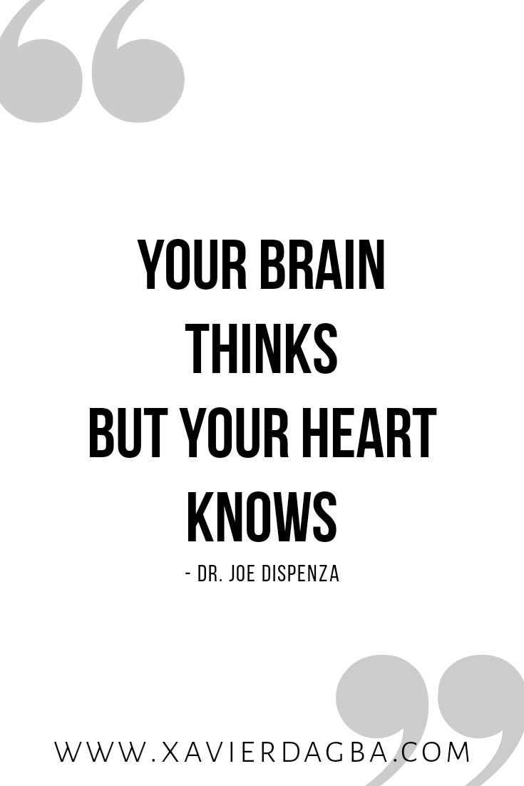 Your heart knows, motivation, inspiration, quote