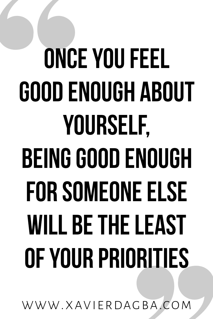 You are good enough, quote, motivation, inspiration