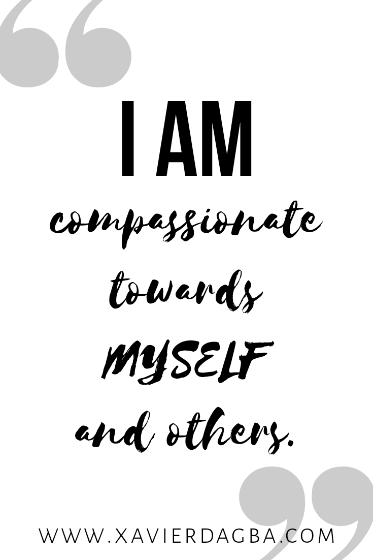 Affirmations on compassion