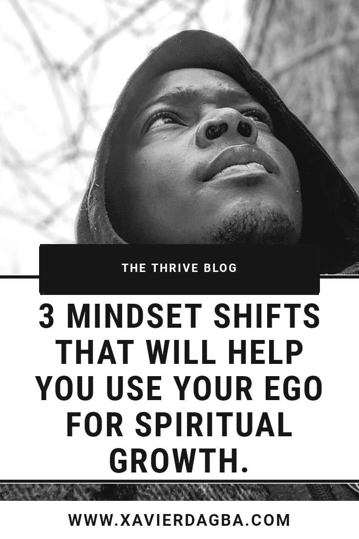 What if your ego was not a threat for your personal development? Learn how to use your ego as an awareness tool for spiritual growth. #Spirituality #ego #spiritualgrowth #mindset #inspiration #positivity #success #thriveblog #blog