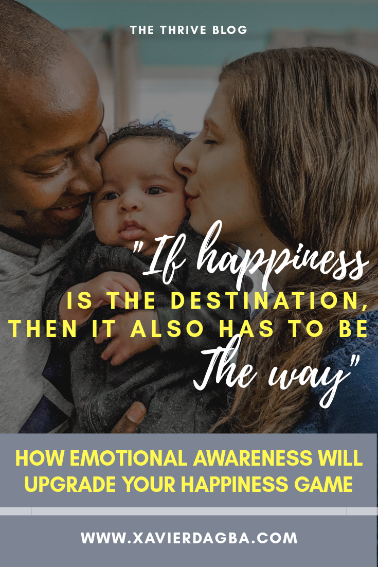 """""""The only reason why you want what you want, is because you think that you will be happier in the having of it."""" - Abraham Hicks. Keep reading to learn how strengthening your emotional awareness will lead you to a happier life.  #mindset #quote #quotes #affirmations #inspiration #motivation #personalgrowth #personaldevelopment #positivethinking #selfesteem #selflove #quotestoliveby #positivequotes #inspirationalquotes #happiness #love #believeinyourself #personaldevelopmentblog #mindfulness #selfawareness"""
