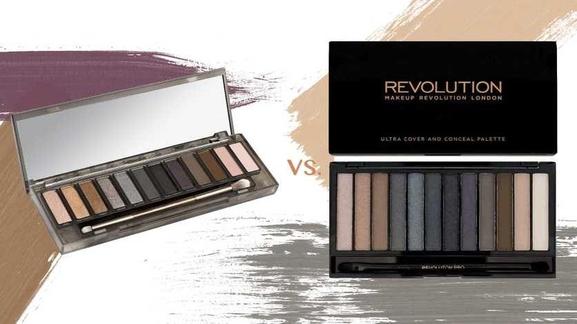 Revolution Eyeshadow Iconic Smokey Pallete