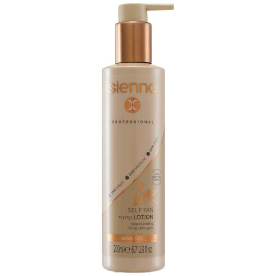 Sienna X 1 Hour Self Tan Tinted Lotion - Best Fake Tan And Self-tan Products
