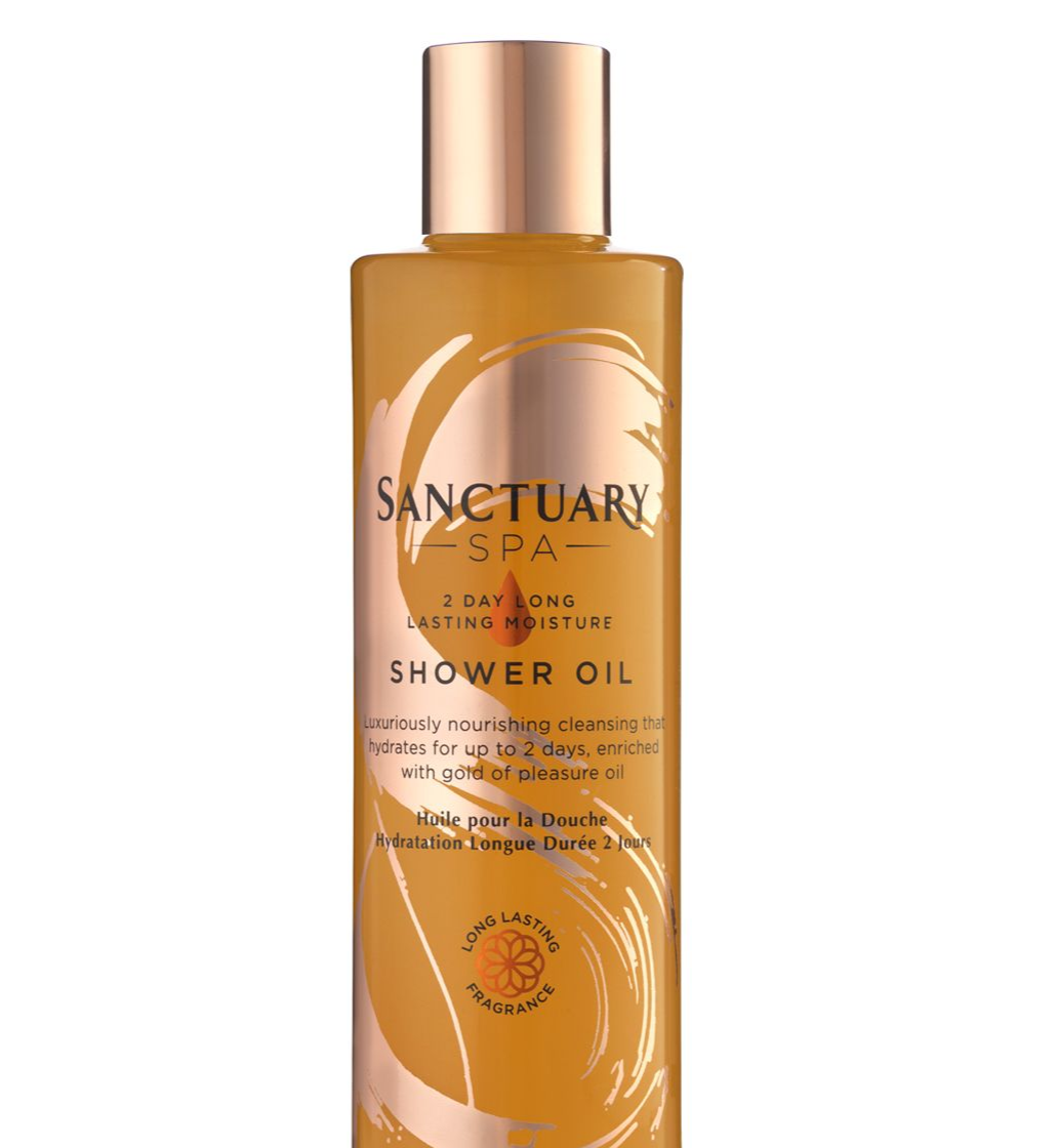 The Sanctuary 2-day Moisture Shower Oil - Best Cheap Beauty Buys Under £10