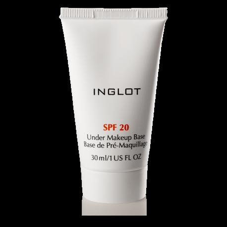 INGLOT Under Makeup Base SPF 20 - Best Makeup Primers For Your Skin Routine