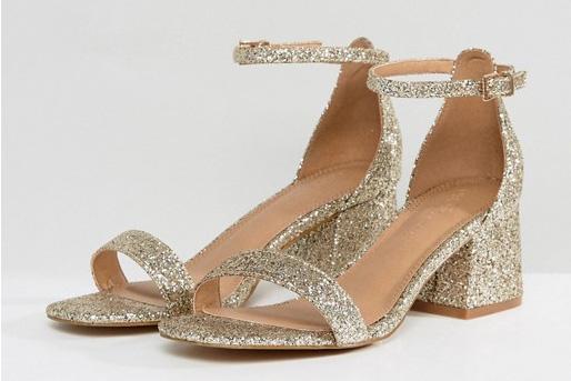 Best heels for pregnancy: ASOS HONEYDEW Wide Fit Heeled Sandals