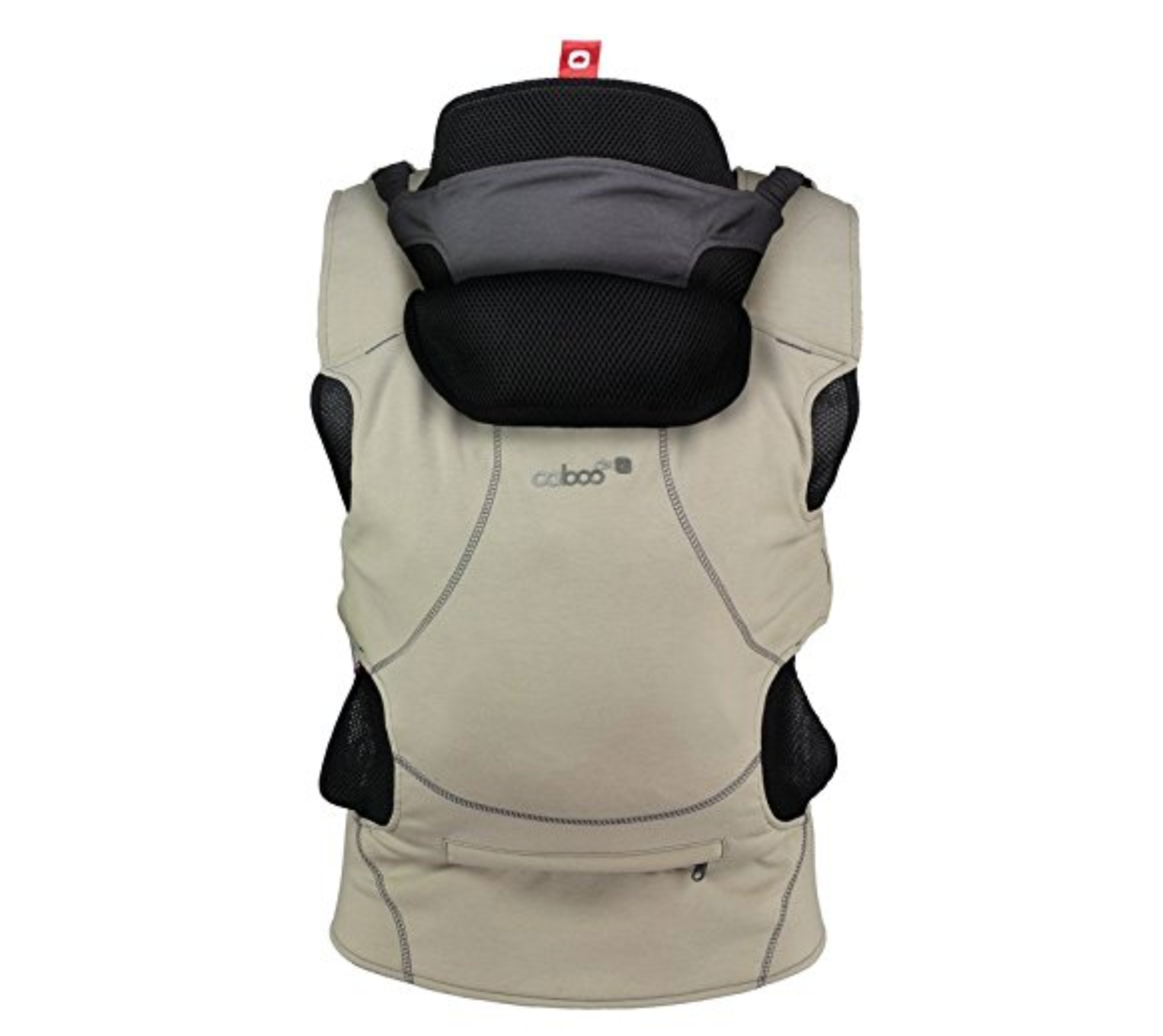 Caboo DX Go Carrier - 5 Best Baby Carriers To Keep Baby Secure