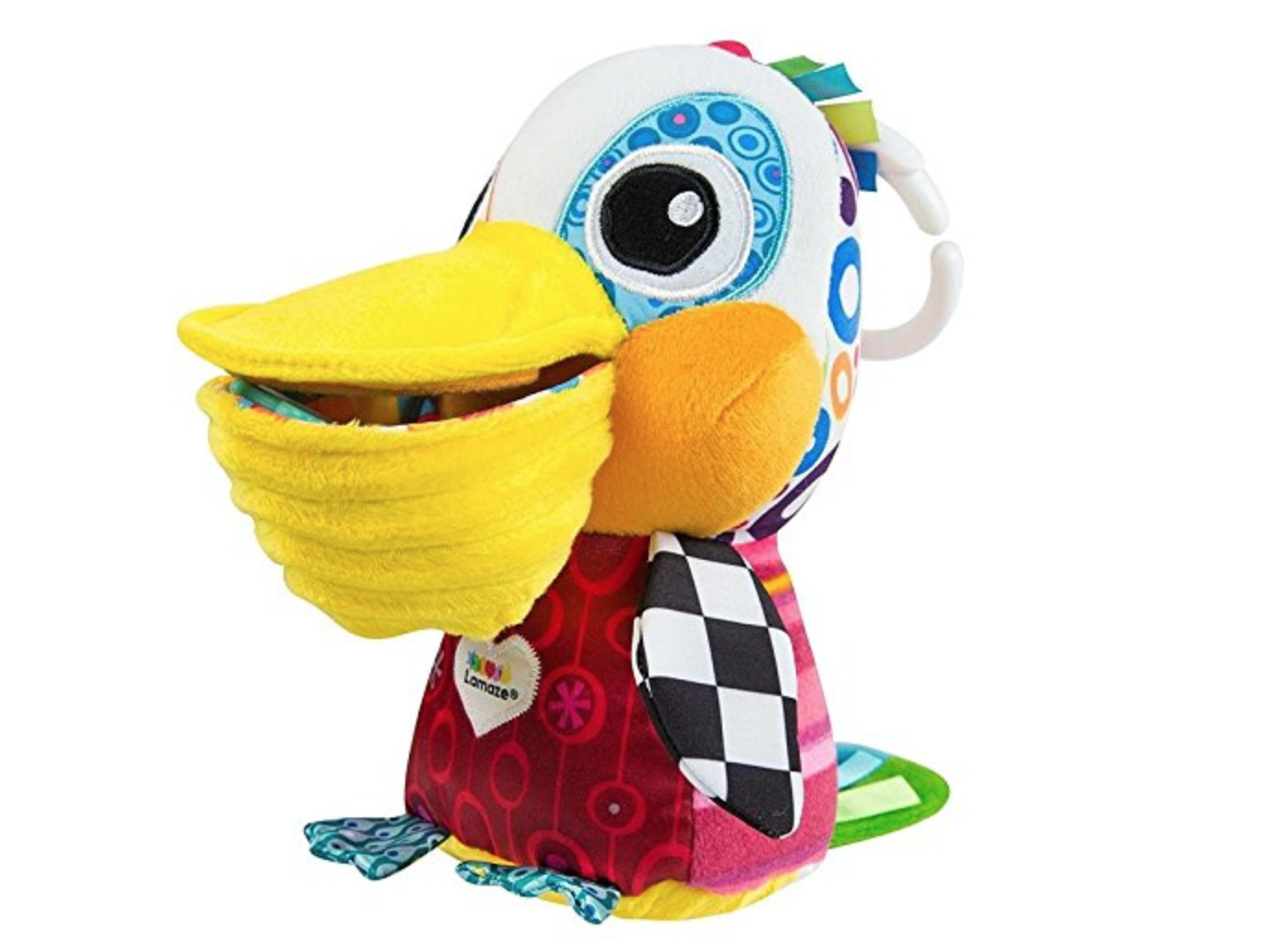 Lamaze Philip Pelican - Best Baby Toys for 0-6 Months Old