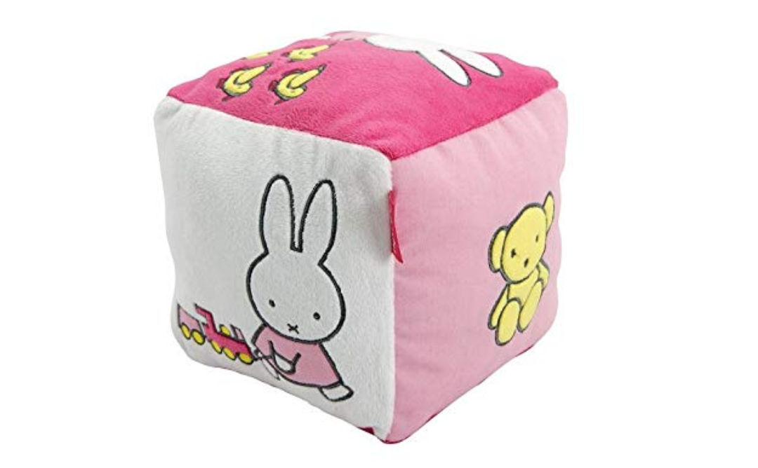 Miffy Activity Cube - Best Baby Toys for 0-6 Months Old