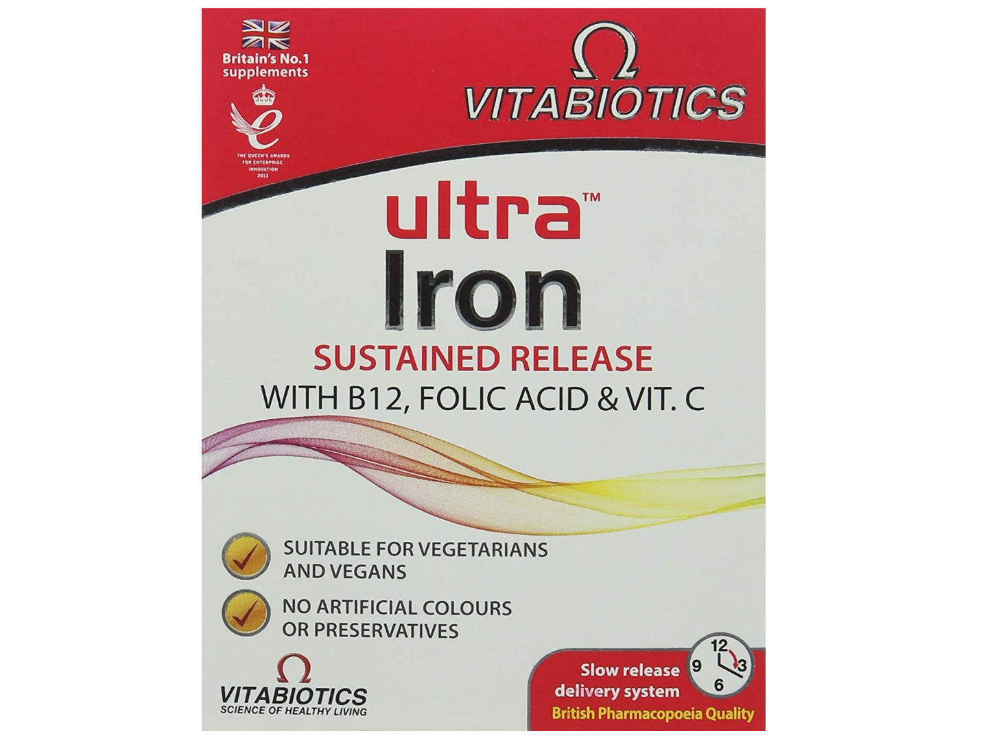 Vitabiotics Ultra Iron - Best Iron Supplements During Pregnancy