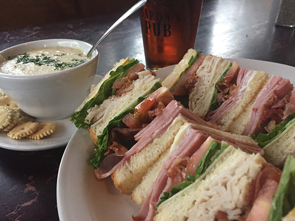 SOUP & SANDWICH COMBO   - Award winning She Crab Soup and BLT Sandwich