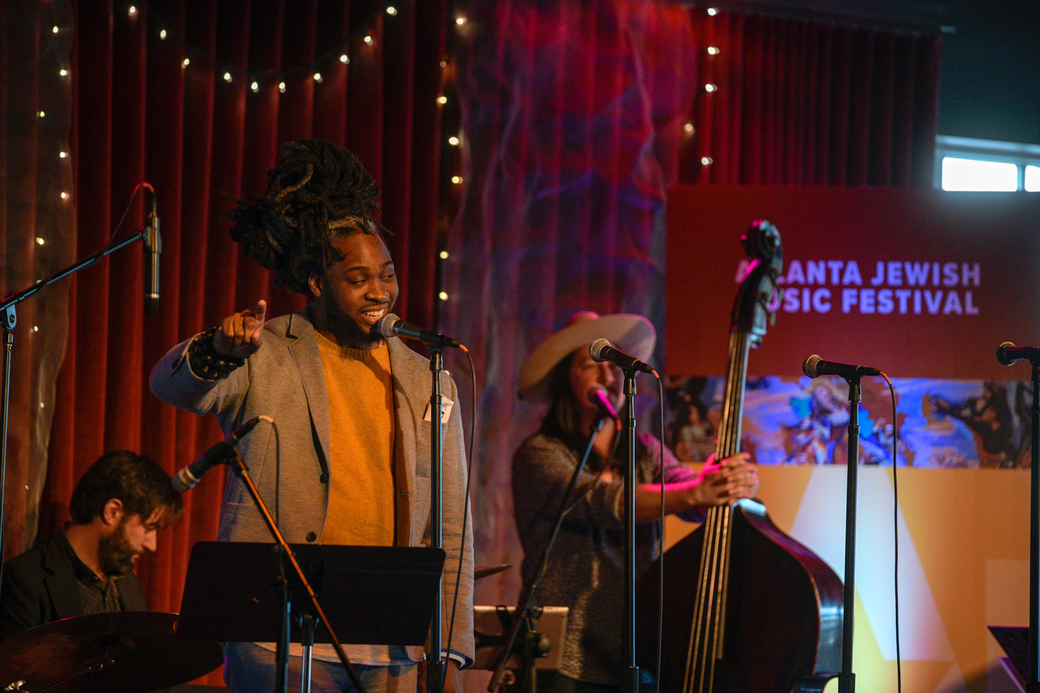 """The Synagogue prayers had traces there in Andrew Tibbs' moans, The Old World met the cotton fields, The Warsaw ghetto shook hands w/ the Mississippi Delta, That suffering in Poland didn't sound that different than the suffering in Selma"" - ATL Collective's fabulous emcee, Adan Bean, walked us through the deeply important story of Jewish/black collaboration in American music via the fascinating, complicated story of Chess Records at Venkman's."