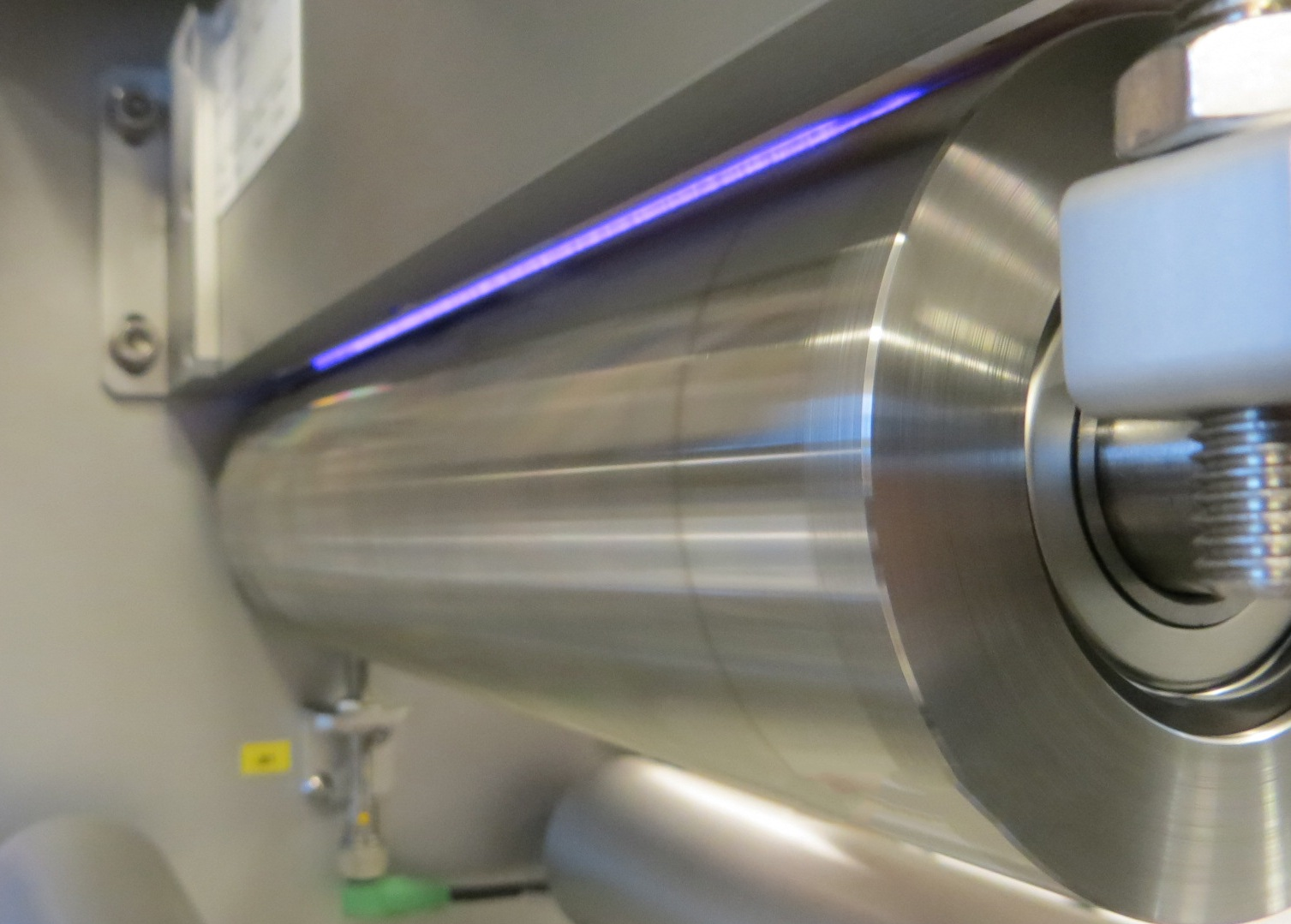Labeltec - For treatment of continuous films, LabelTEC treatment systems can treat from 100mm wide up to 2000mm for a variety of materials - usually ahead of laminating or printing processes.