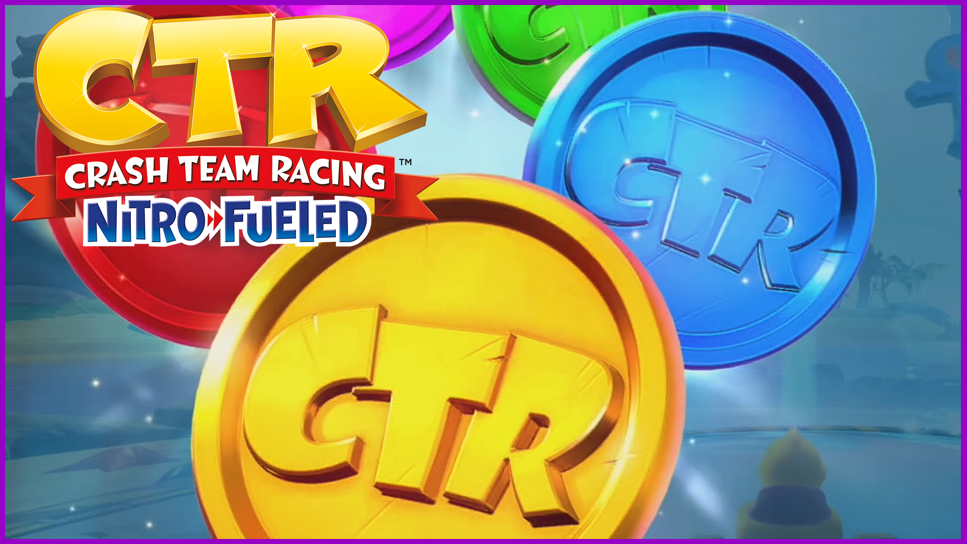 All Adventure Mode CTR Tokens -