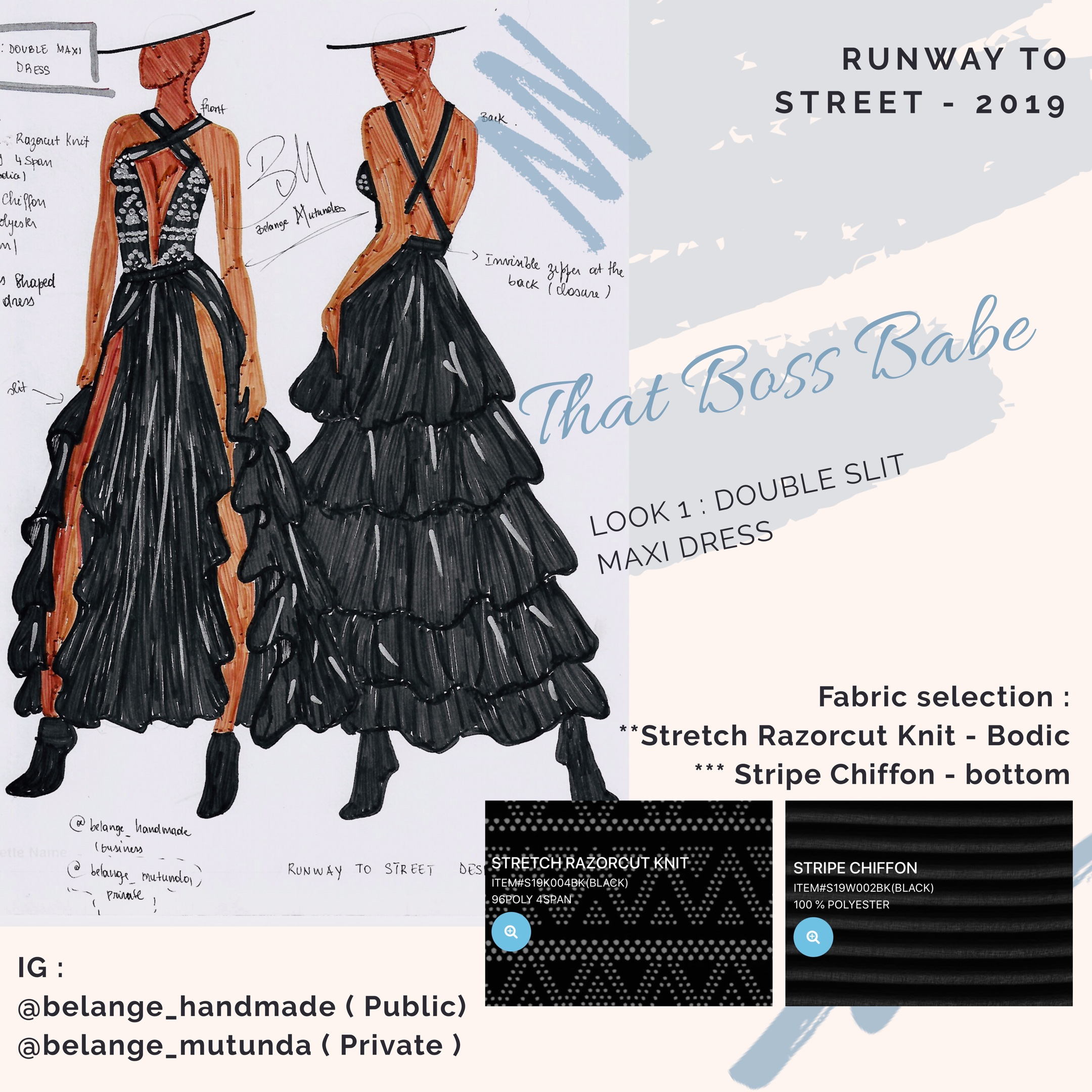 How I Won Runway To Street Nyc An International Fashion Design Competition Belange Handmade Llc