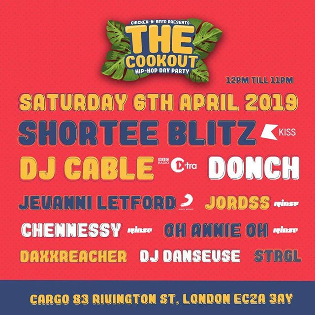 Catch me @cargo_ldn on Saturday from 12 - 2pm warming up the crowd for what looks to be a great day. Feel free to come down and say hi 👋🏾 . . . . .  #livemusic #dj #traktor #traktordj #cdj #serato #numark #nativeinstruments #apple  #newmusic #musiclife #djlife #djs #instadj #djsofinstagram #deejay #londonDJ #turntablist #instascratch #technics #musicphotography  #HypeBeast  #exploremore #lifestyleblog  #makemoments  #london_only #unlimitedlondon #londoncalling  #instaandroid #cookout