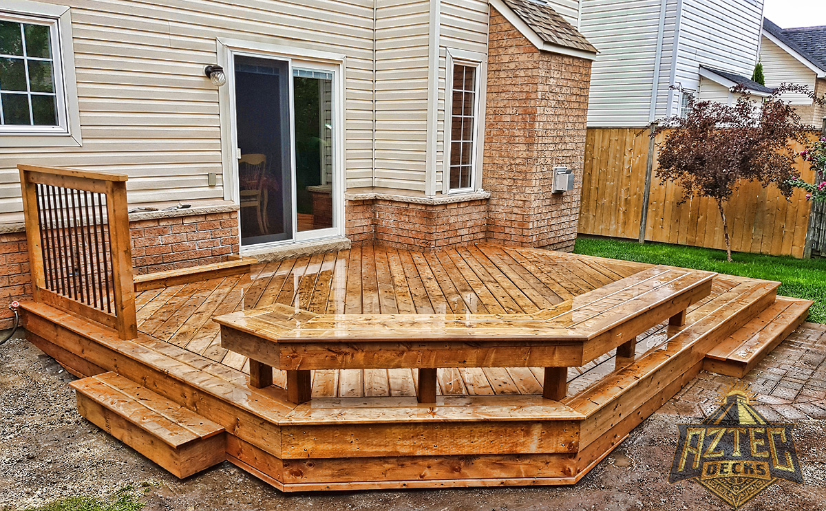 Whitby deck builtin bench pressure treated deckorators by aztec decks.jpg