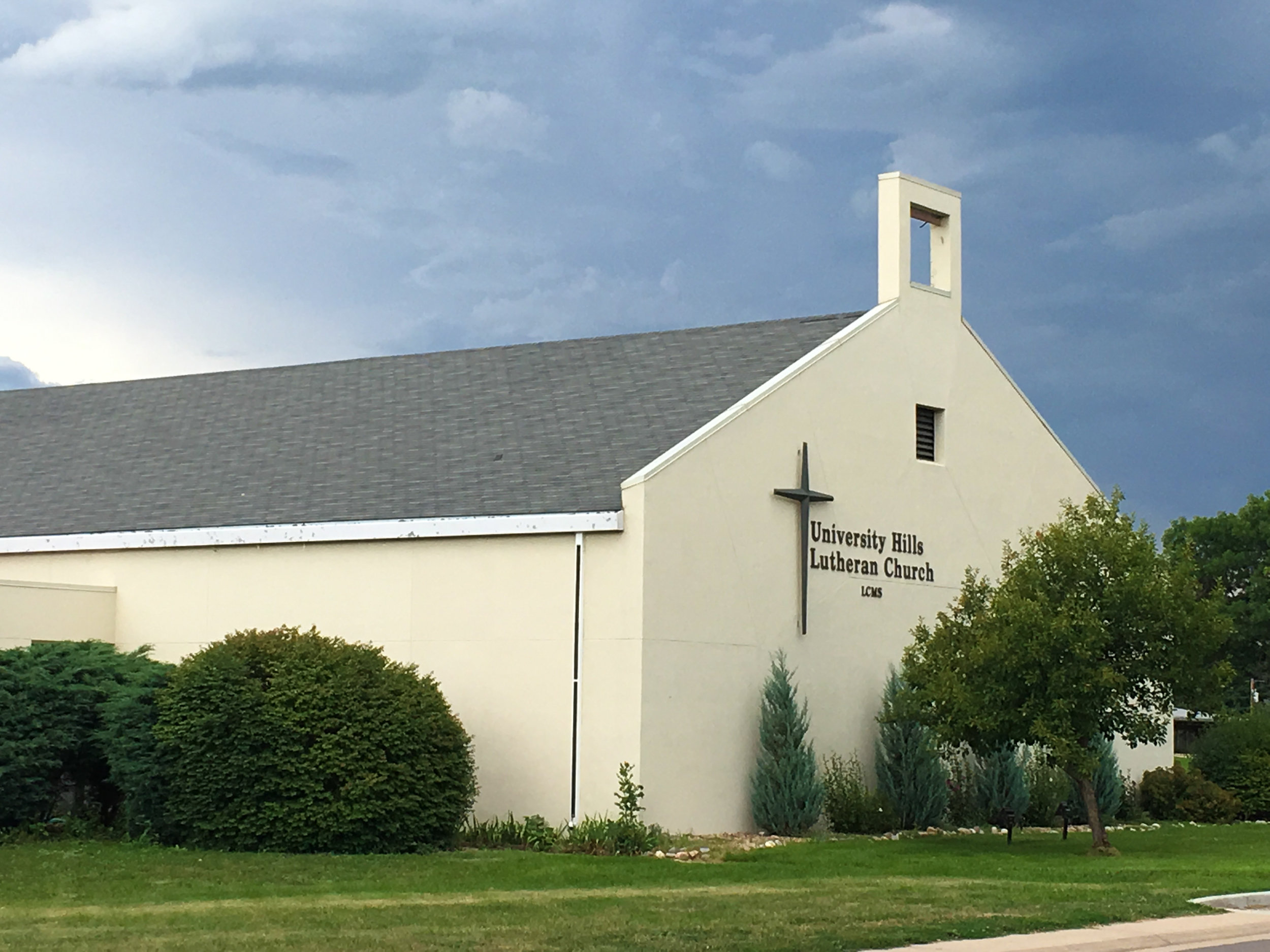 The multi-purpose building and sanctuary, dedicated 1987.