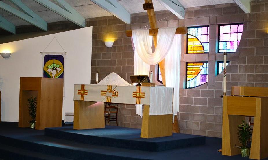 Current sanctuary, Easter Season 2018.
