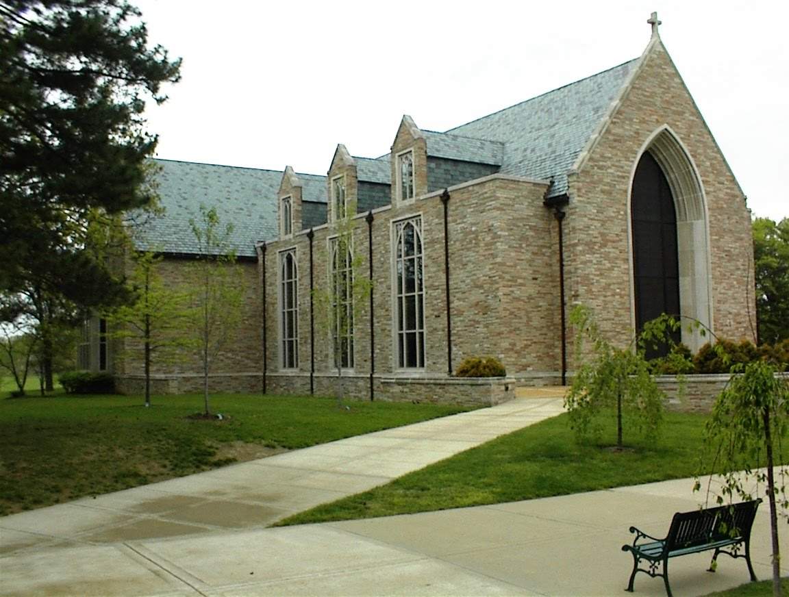 Concordia Seminary St. Louis, where we raised money for their student food bank.