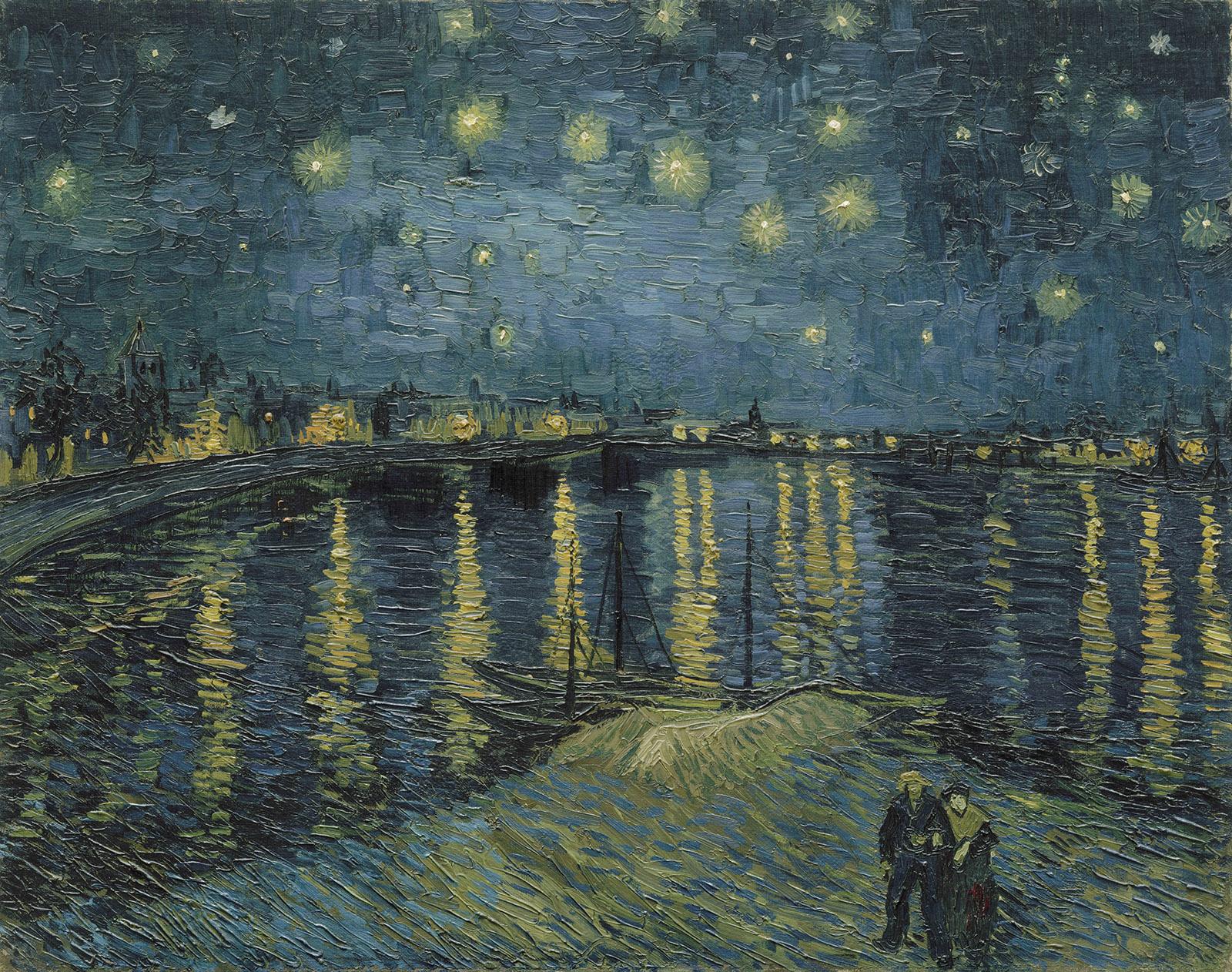 VanGogh   Starry Night, 1888   RMN Grand Palais Musee d'Orsay  Herve-Lewandowski