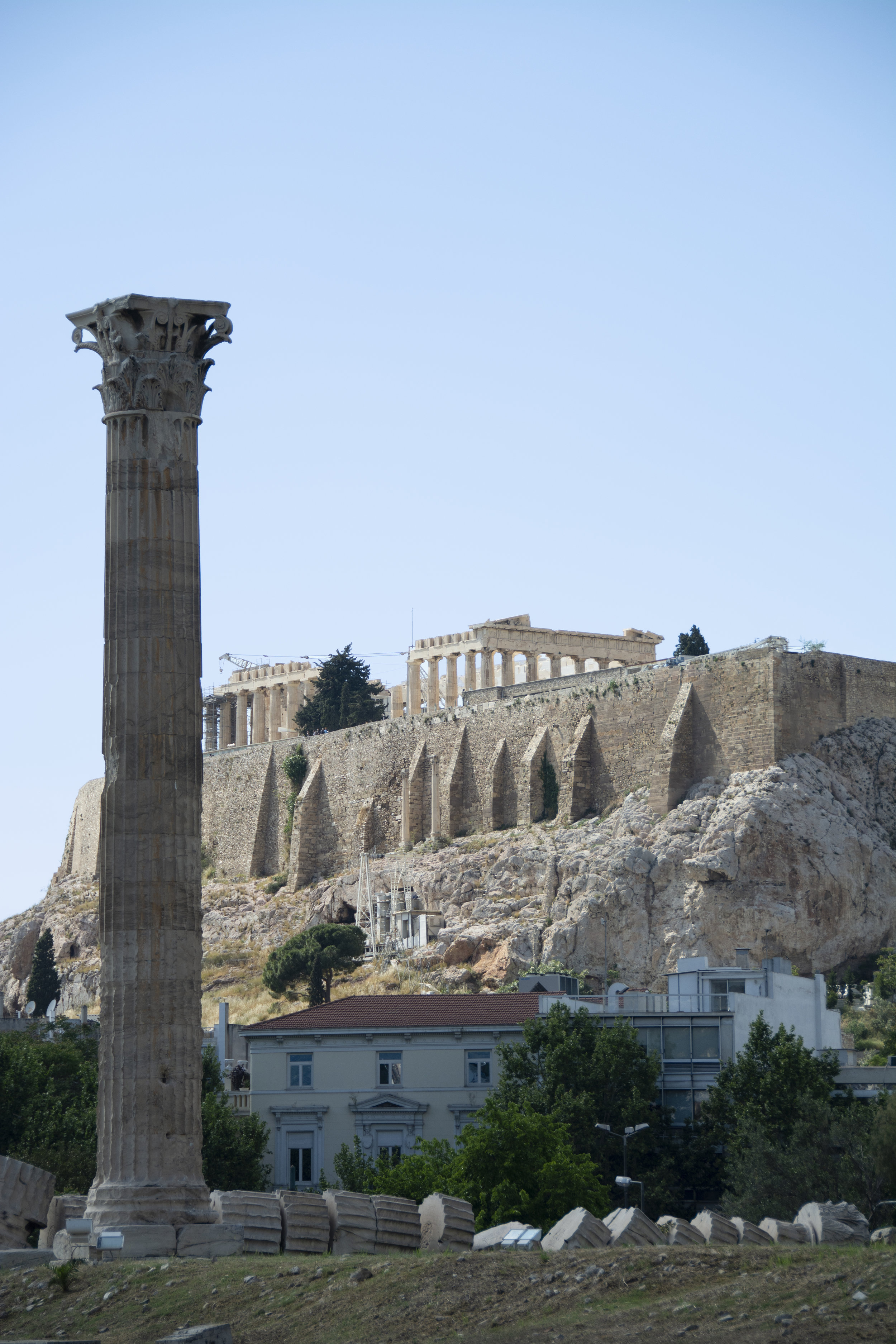 Remains of the Parthenon