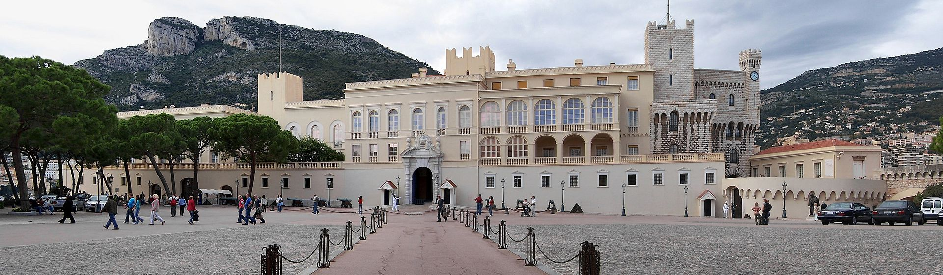 Prince's Palace of Monaco, photo released into public domain by  Berthold Werner