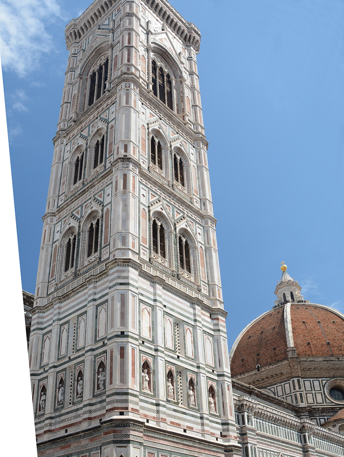 Still standing.  Giotto's Campanile  stands in the foreground.