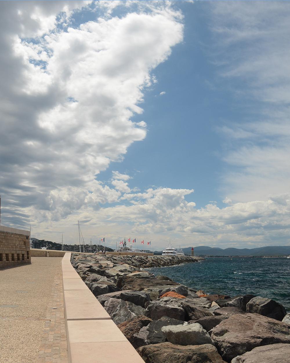 St. Tropez breakwater