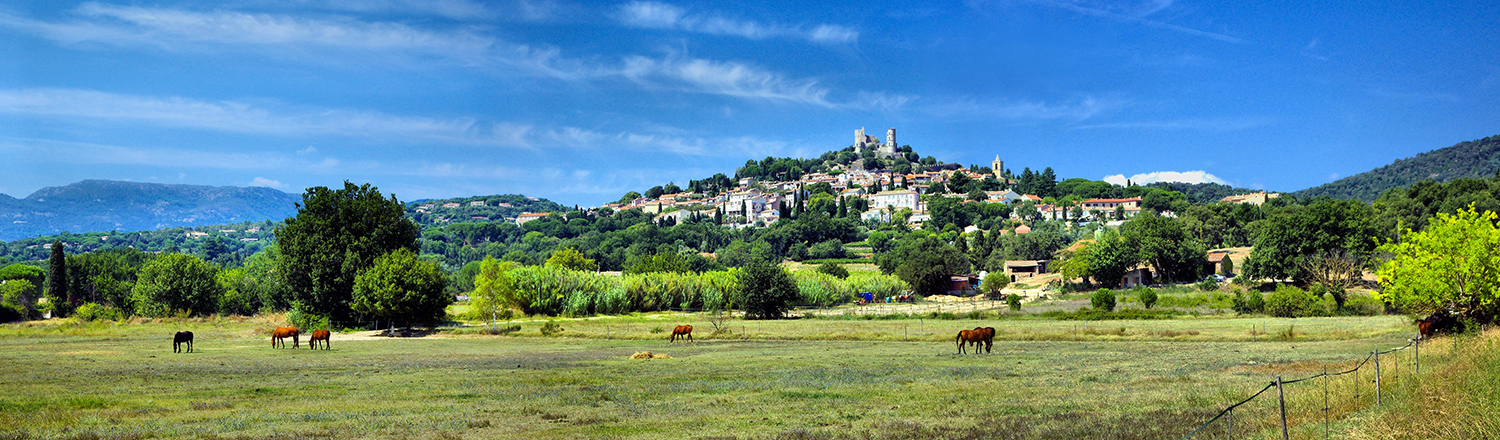 Grimaud panorama Photo by Gilles Perréal