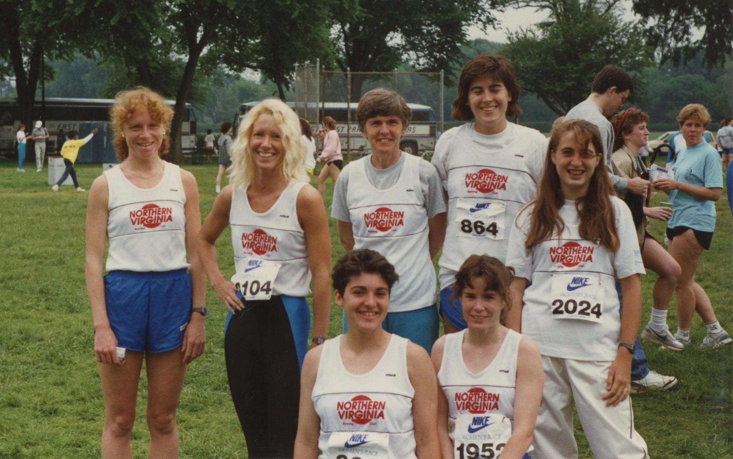 Nike Women's Race, 1990. Frank approved!